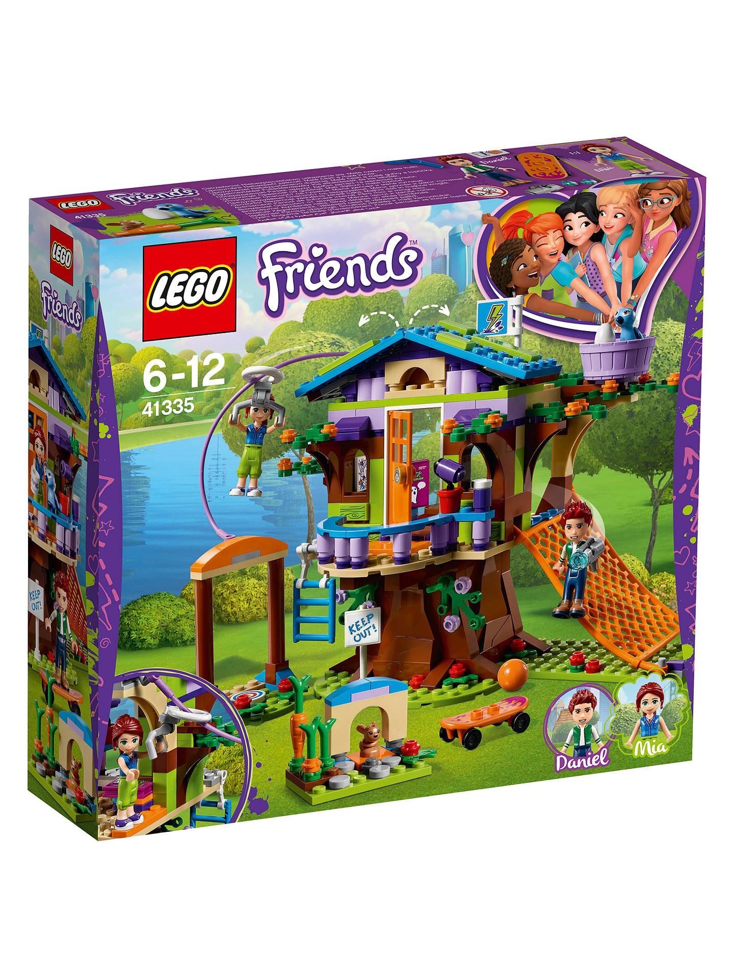 LEGO Friends 41335 Heartlake Mia's Tree House at John ...