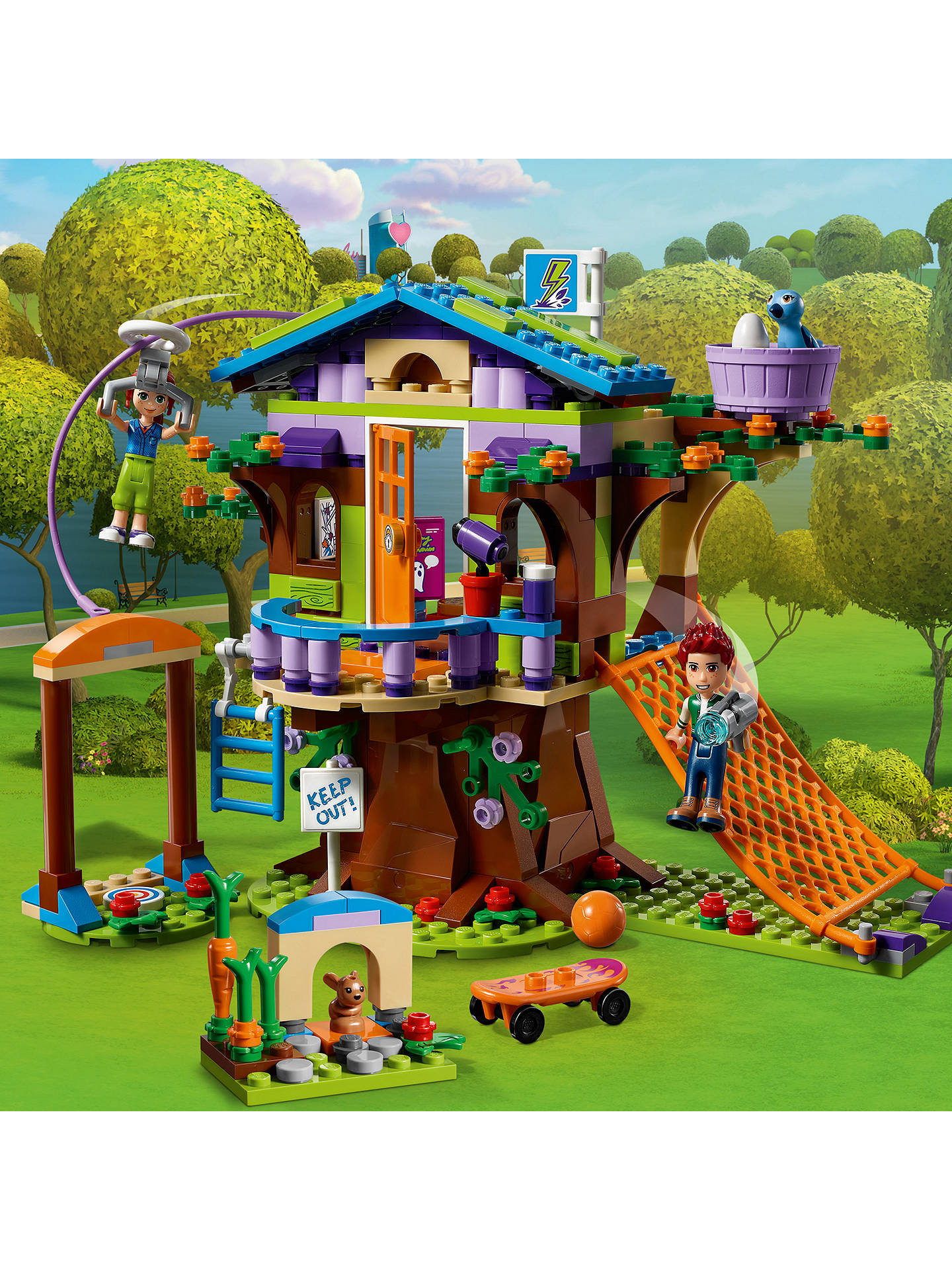 Lego Friends 41335 Heartlake Mias Tree House At John Lewis Partners