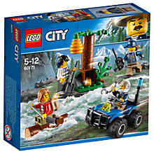 Buy LEGO City 60171 Mountain Fugitives Online at johnlewis.com