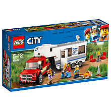 Buy LEGO City 60182 Caravan and Pickup Truck Online at johnlewis.com