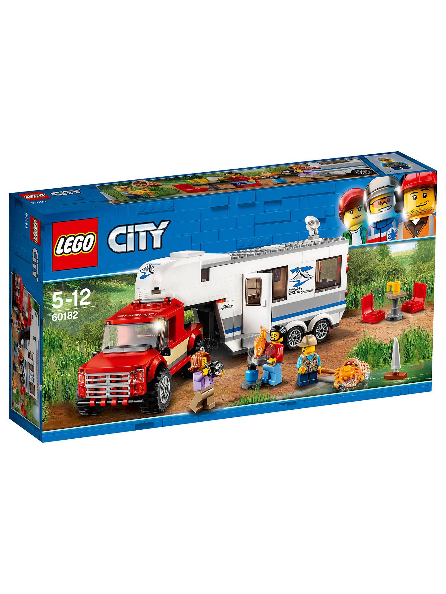 Harga Leggo City Terbaru 2018 Osram Lampu Mobil Volvo S60 2007 2009 High Beam H9 62213cbh Lego 60182 Caravan And Pickup Truck At John Lewis Partners Buylego Online