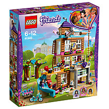 Buy LEGO Friends 41340 Friendship House Online at johnlewis.com