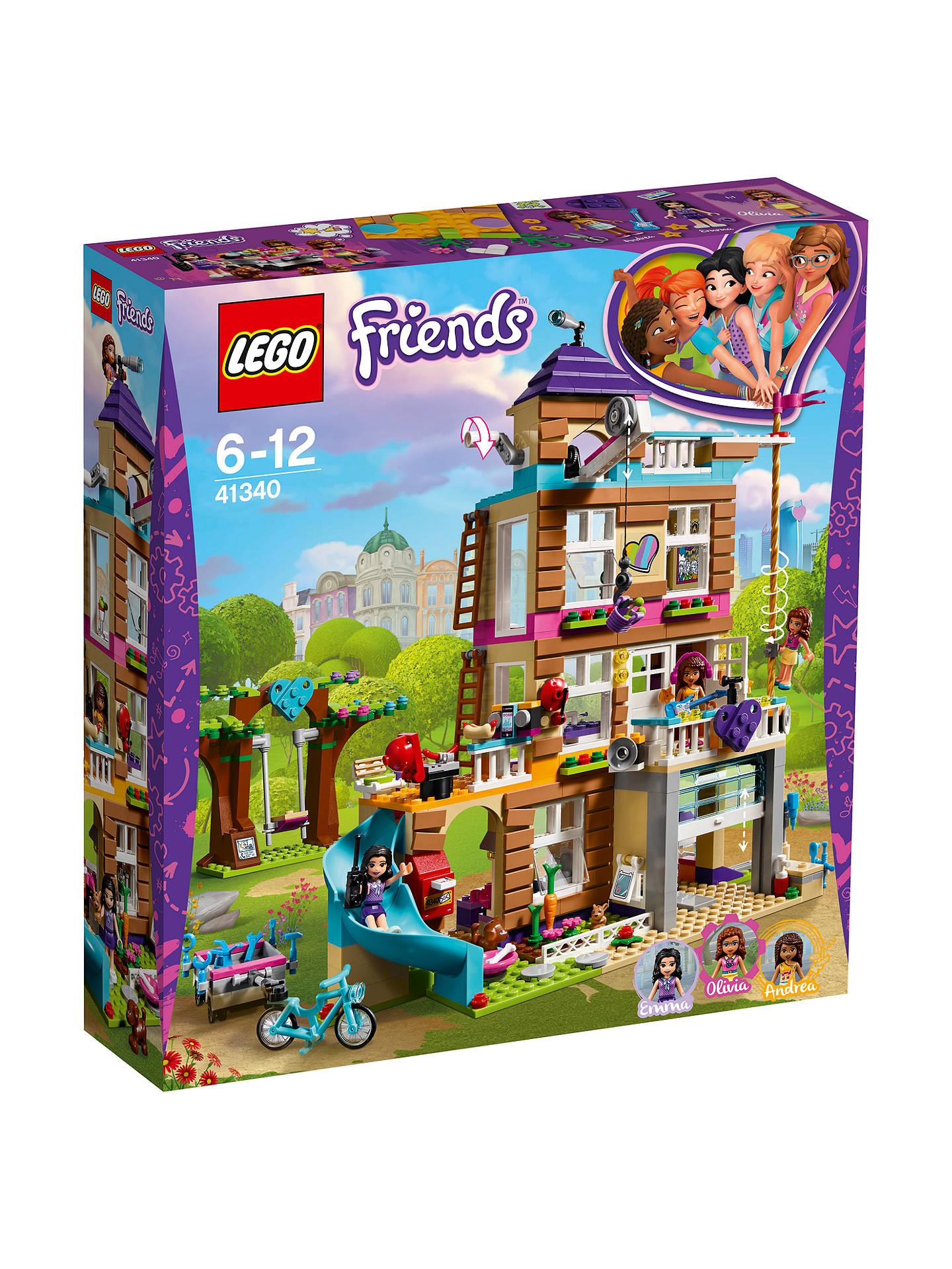 Lego Friends 41340 Friendship House At John Lewis Partners