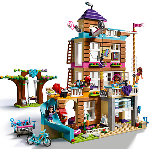 This is a piece Lego set which was fairly easy to assemble. It is her island home with a fire pit and waterfall area, too. There is a Moana mini-doll figure (similar to those in the Friends Lego Reviews: