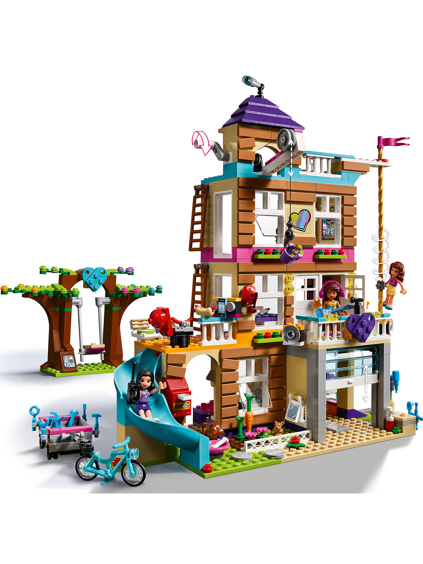 Lego Friends 41340 Friendship House At John Lewis Partners