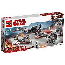 Buy LEGO Star Wars: The Last Jedi 75202 Defense of Crait Online at johnlewis.com