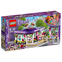 Buy LEGO Friends 41336 Emma's Art Café Online at johnlewis.com