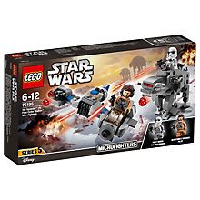 Buy LEGO Star Wars: The Last Jedi Ski Speeder Vs First Order Walker Microfighters Online at johnlewis.com