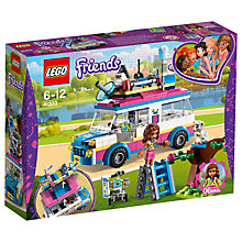 Buy LEGO Friends 41333 Olivia's Mission Vehicle Online at johnlewis.com