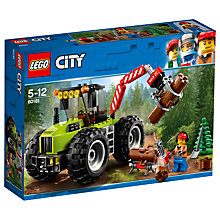 Buy LEGO City 60181 Forest Tractor Online at johnlewis.com