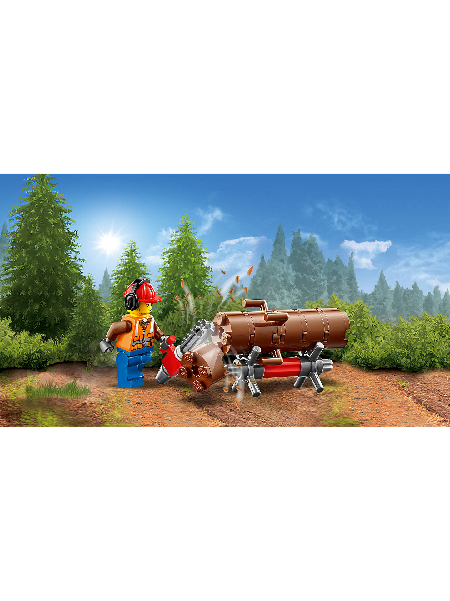 LEGO City Forest Tractor at John Lewis & Partners