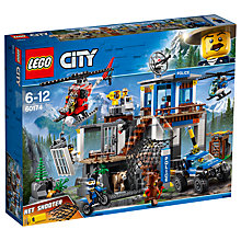 Buy LEGO City 60174 Mountain Police HQ Online at johnlewis.com