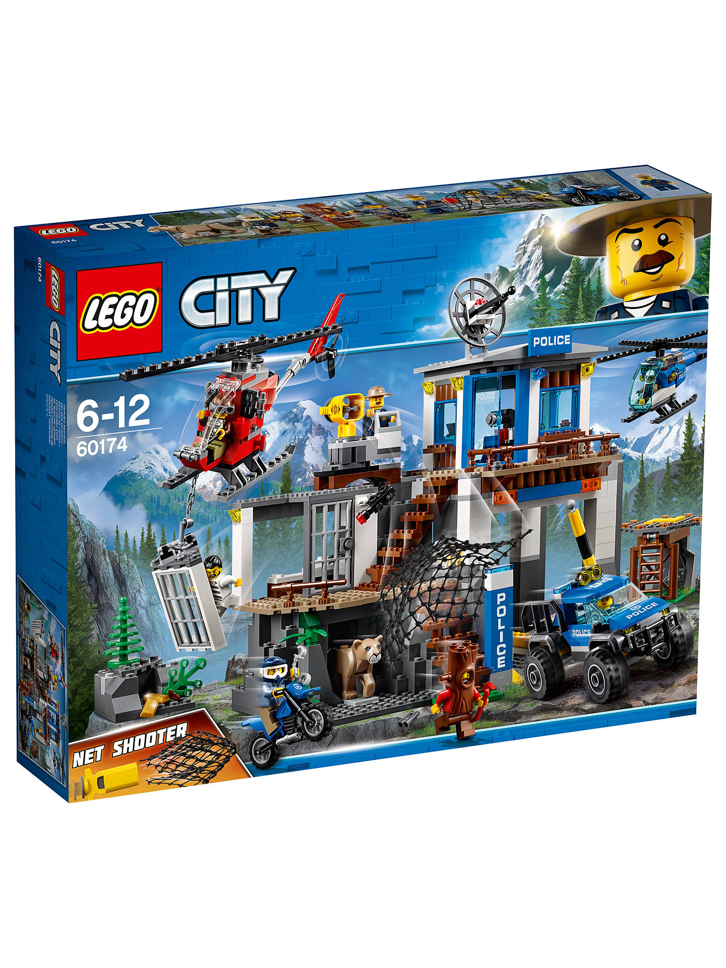 Lego City 60174 Mountain Police Headquarters At John Lewis Partners