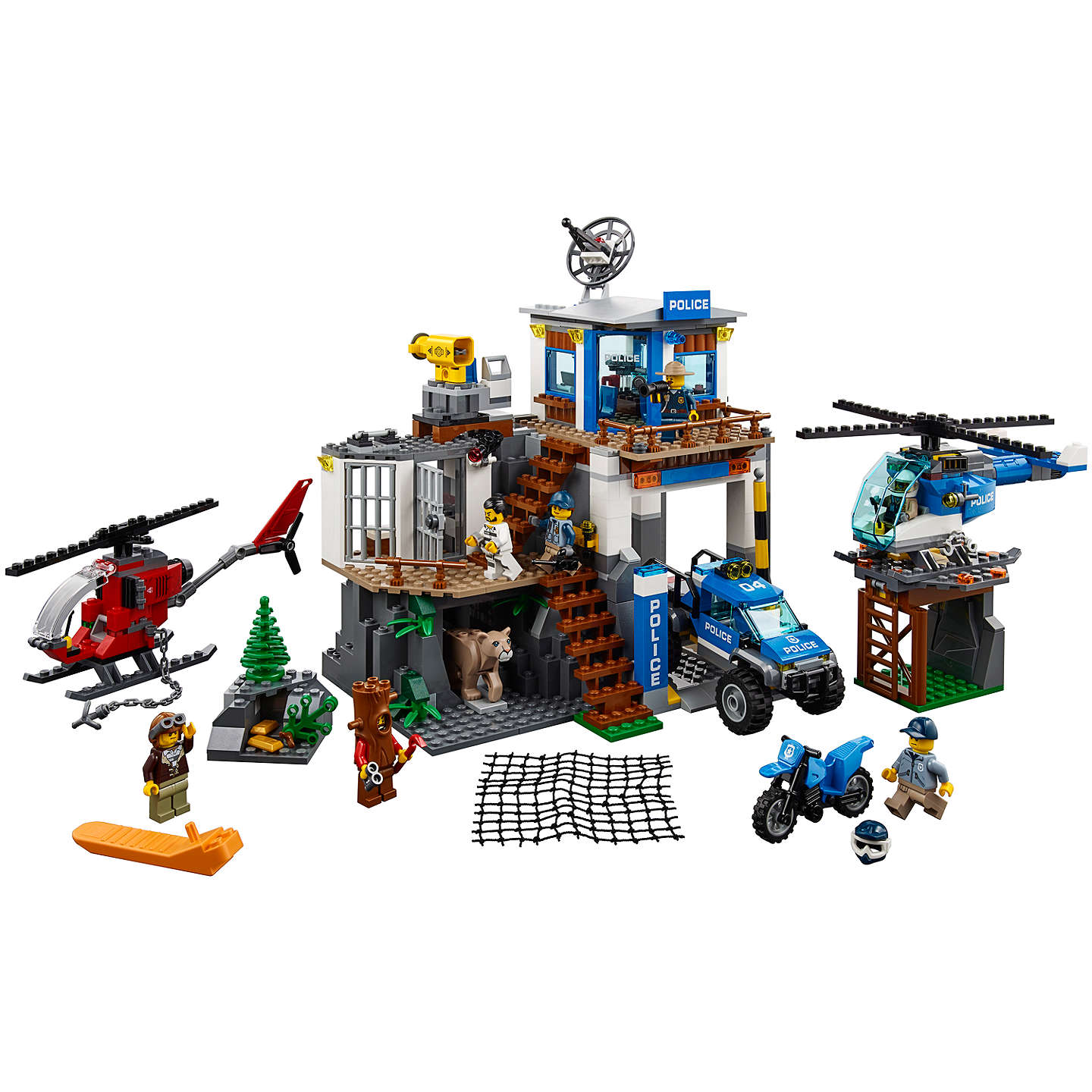 BuyLEGO City 60174 Mountain Police HQ Online at johnlewis.com