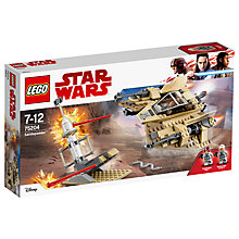 Buy LEGO Star Wars 75204 Sandspeeder Online at johnlewis.com
