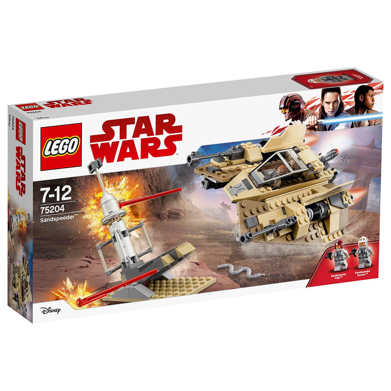 lego star wars 75204 sandspeeder at john lewis. Black Bedroom Furniture Sets. Home Design Ideas