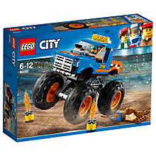 Buy LEGO City 60180 Monster Truck Online at johnlewis.com