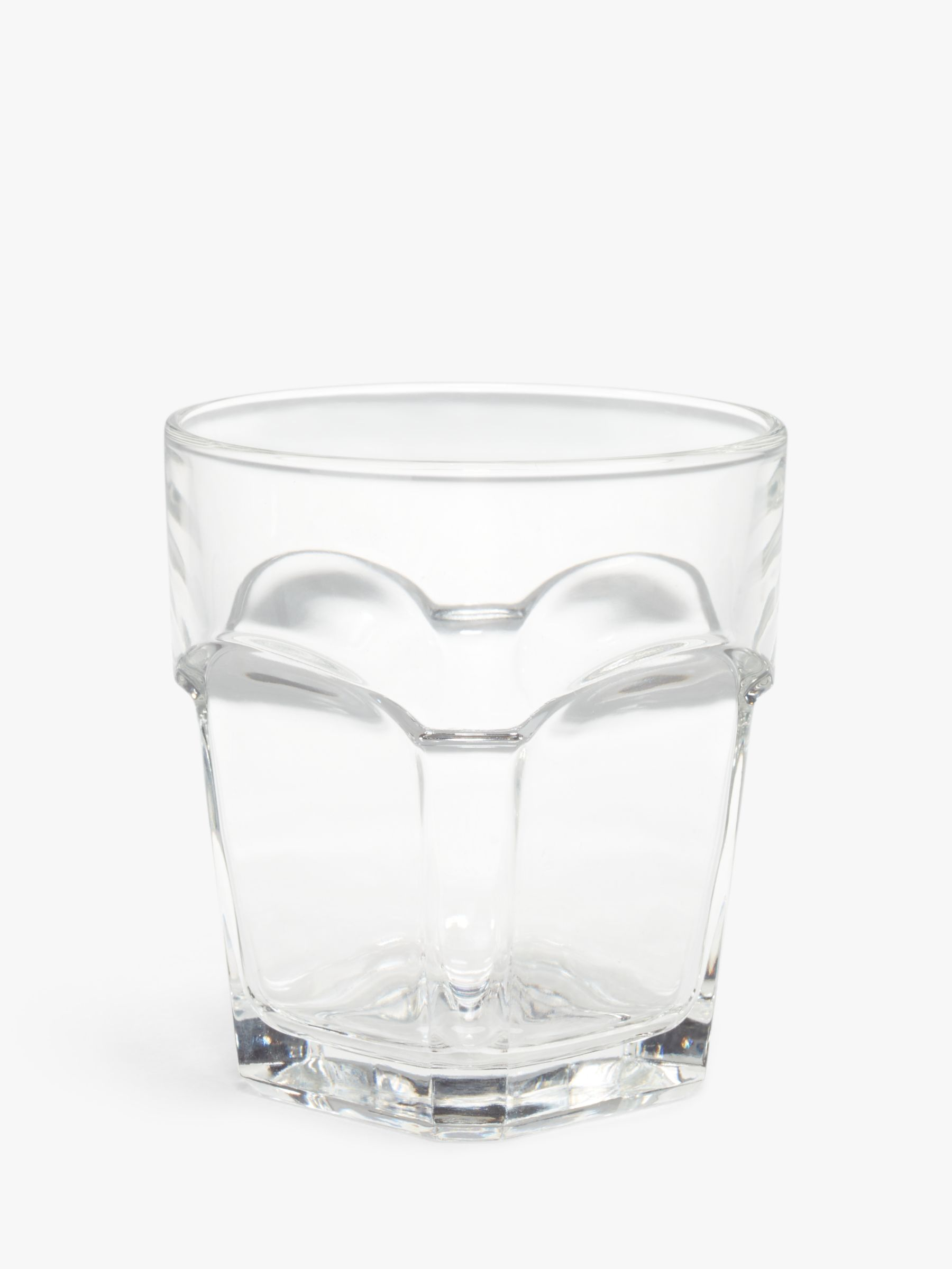 House by John Lewis House by John Lewis Stackable Glass Tumbler, Clear, 270ml