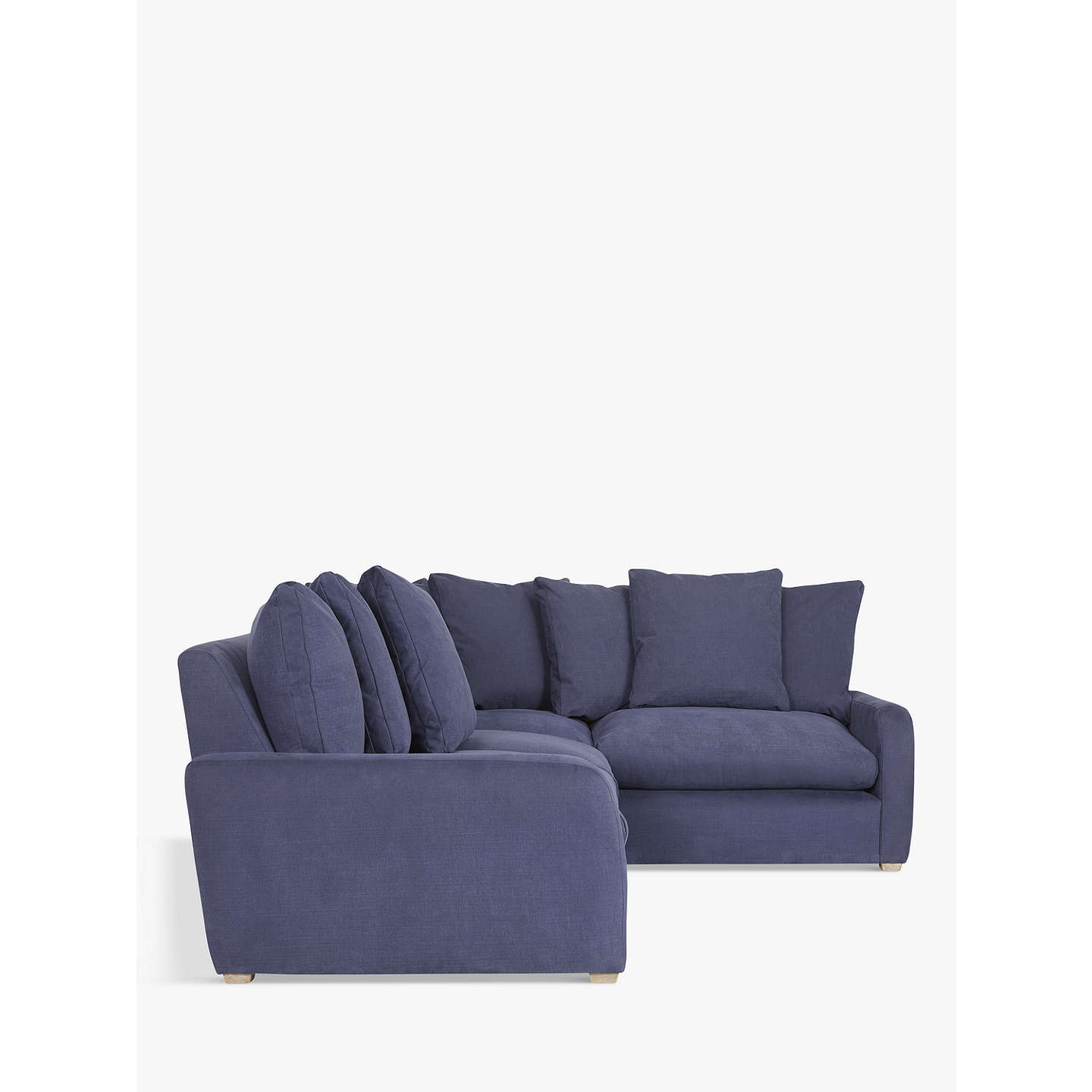 John Lewis Cooper Corner Sofa: Floppy Jo Large RHF Corner End Sofa By Loaf At John Lewis