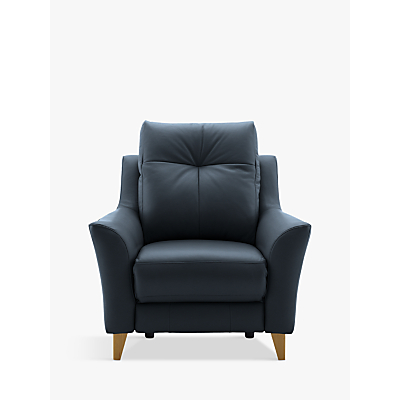 G Plan Hirst Power Recliner Leather Armchair