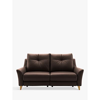 G Plan Hirst Power Recliner Large 3 Seater Leather Sofa