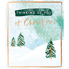 Buy Cardmix Thinking Of You This Christmas Card Online at johnlewis.com