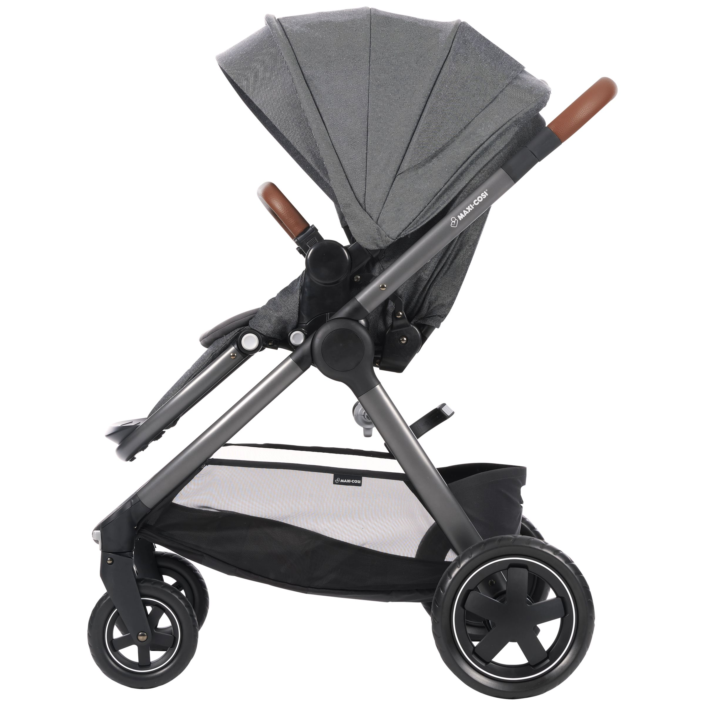 Maxi Cosi Adorra Pushchair Sparkling Grey At John Lewis Partners