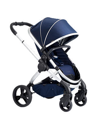 Buy iCandy Peach Satin Pushchair and Carrycot, Indigo Online at johnlewis.com