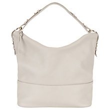 Buy Hobbs Hayley Leather Hobo Bag, Fawn Online at johnlewis.com