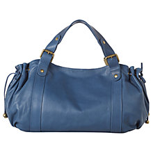 Buy Gerard Darel Le 24 Heur Jean Bag, Blue Online at johnlewis.com