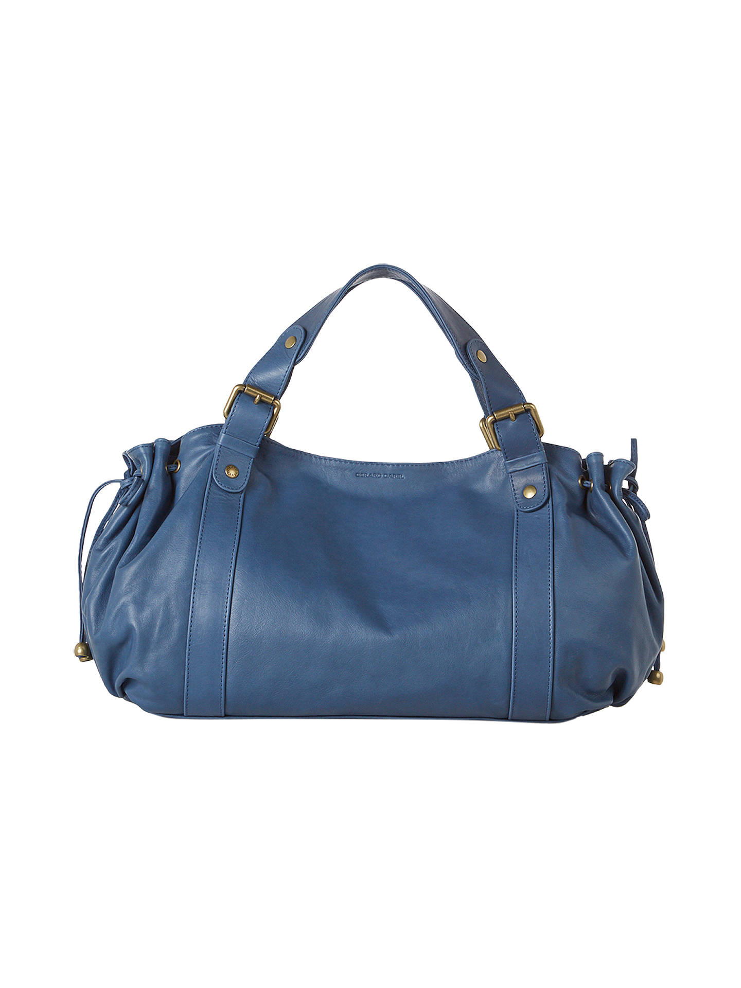 Gerard Darel Le 24 Heur Jean Bag Blue Online At Johnlewis