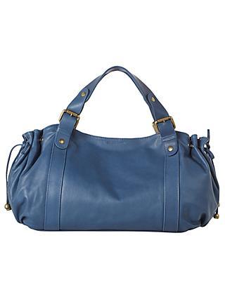 Gerard Darel Le 24 Heur Jean Bag Blue
