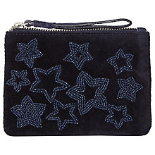 Buy White Stuff Velvet Star Coin Purse Online at johnlewis.com