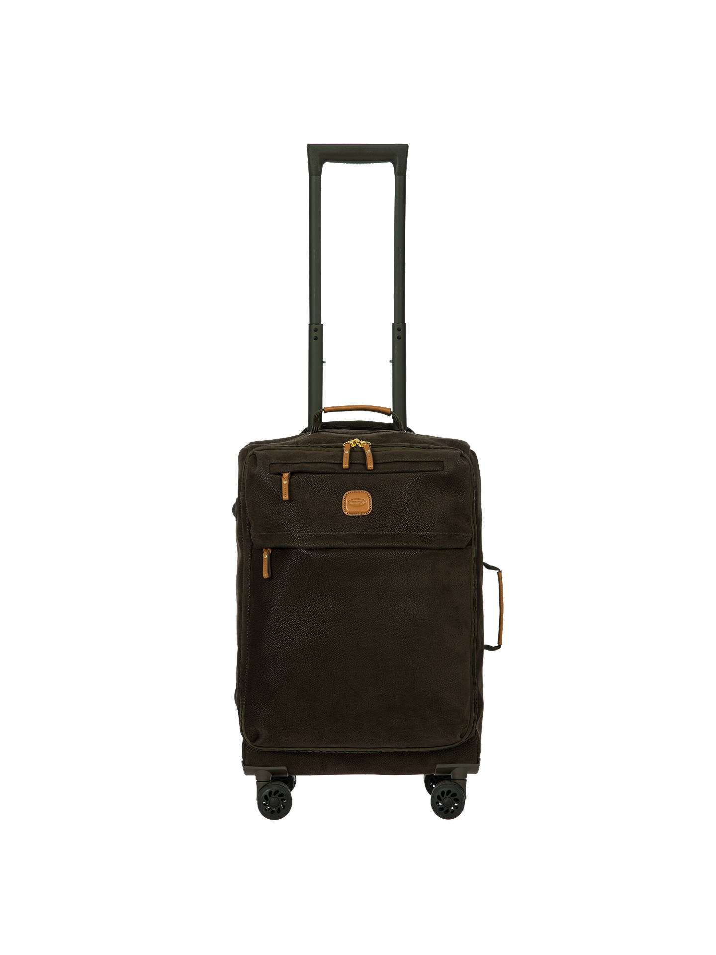 Buy Bric's Life Lightweight 4-Wheel 55cm Cabin Case, Olive Online at johnlewis.com