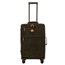 Buy Bric's Life Lightweight 4-Wheel 65cm Medium Spinner Suitcase, Olive Online at johnlewis.com