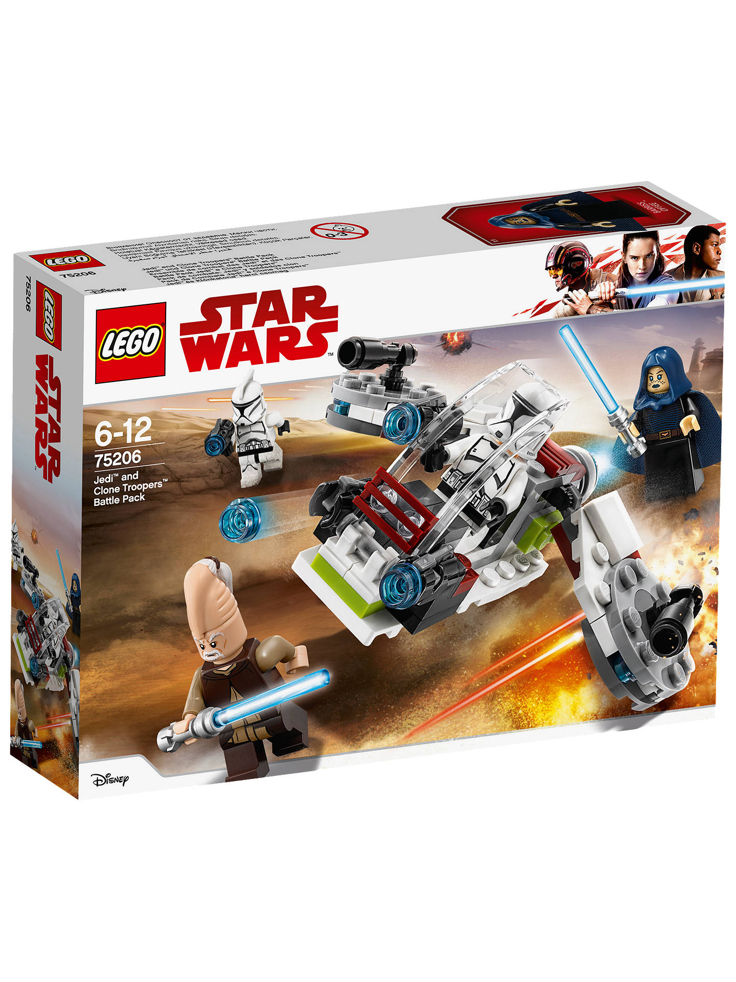 BuyLEGO Star Wars Solo  A Star Wars Story 75206 Jedi and Clone Troopers  Battle Pack ... 37a73b63e