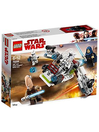 LEGO Star Wars Solo: A Star Wars Story 75206 Jedi and Clone Troopers Battle Pack