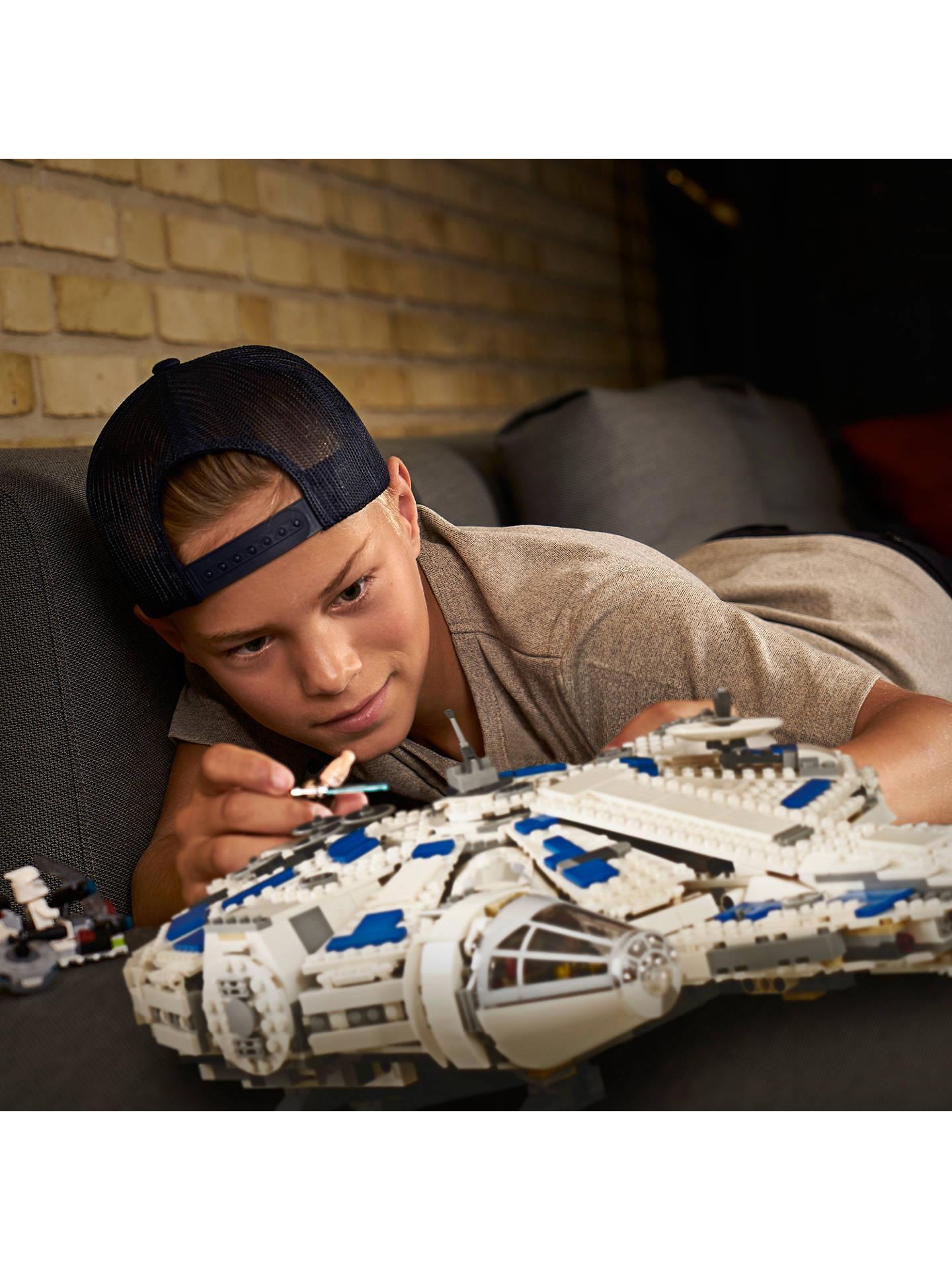 5d4a515fd8a53 ... BuyLEGO Star Wars Solo  A Star Wars Story 75212 Kessel Run Millennium  Falcon Online at ...