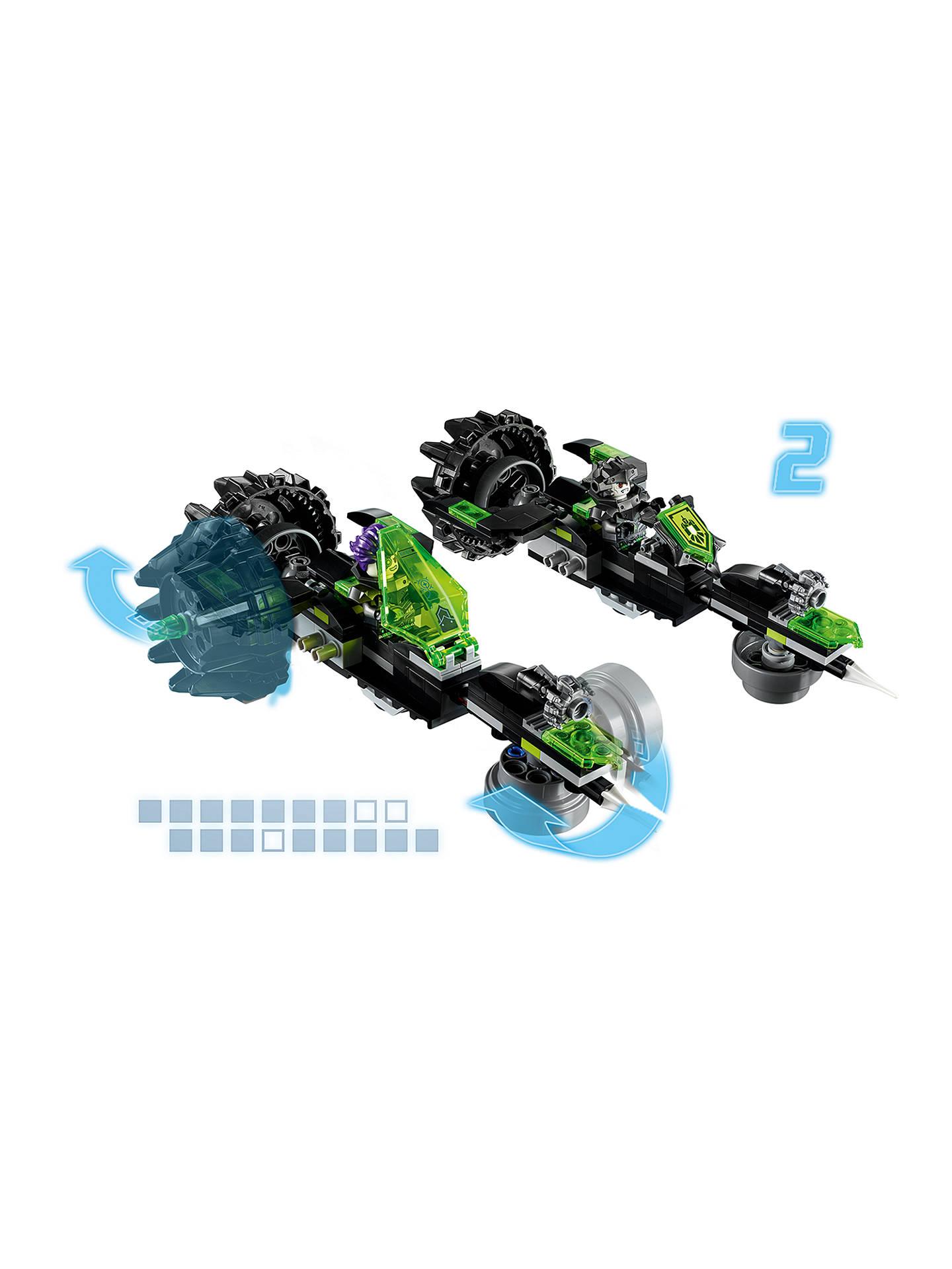 Lego Mini Figure Nexo Knights Fred with Gamma Rays Power Shield Pattern 72002