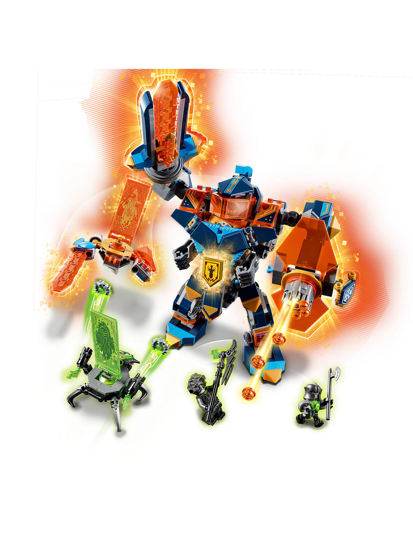 BuyLEGO Nexo Knights 72004 Tech Wizard Showdown Online at johnlewis.com