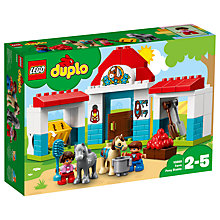 Buy LEGO DUPLO 10868 Farm Pony Stable Online at johnlewis.com
