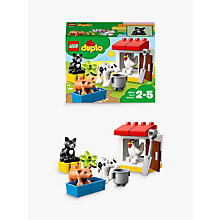 Buy LEGO DUPLO 10870 Farm Animals Online at johnlewis.com
