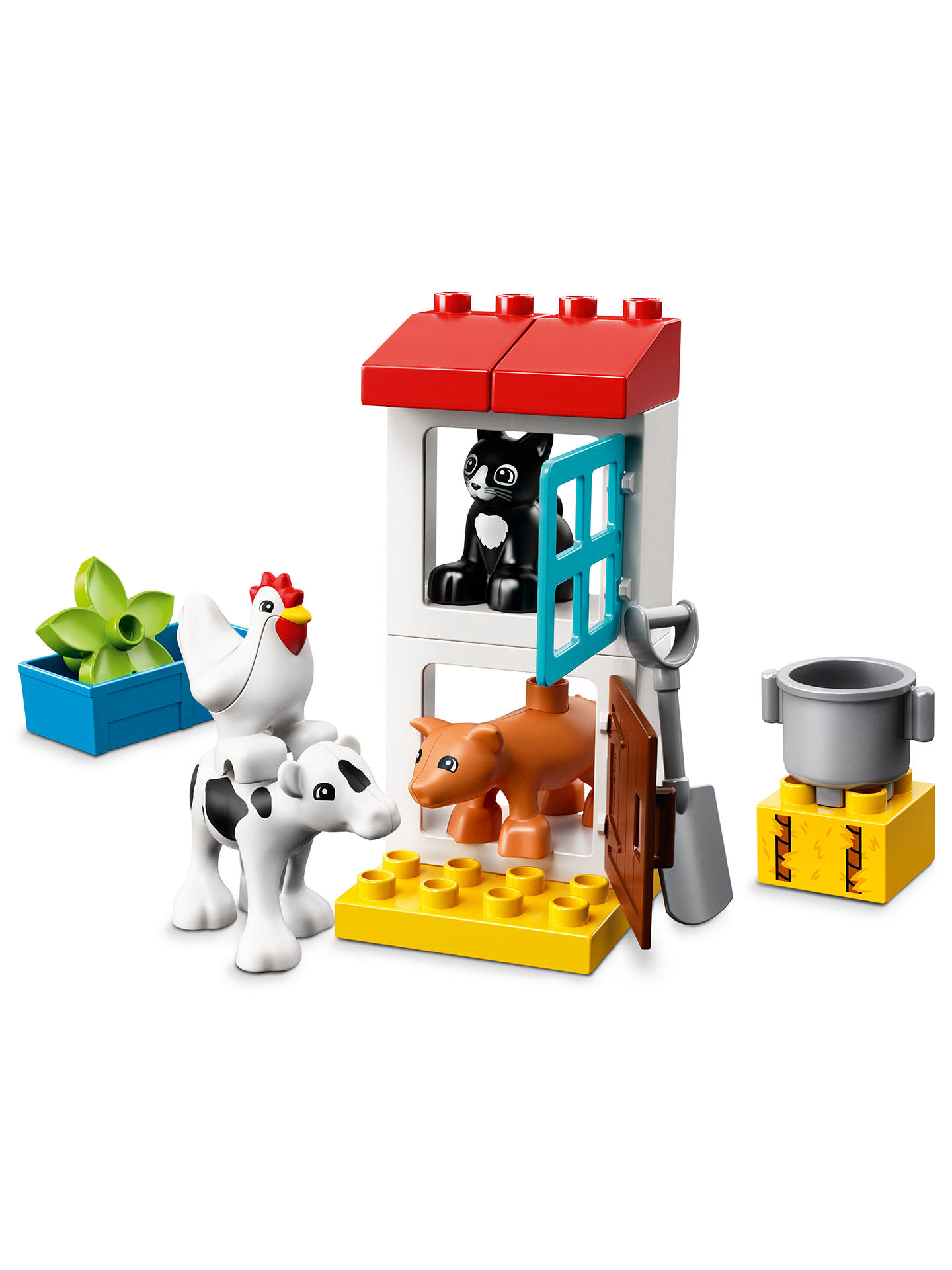 Lego Duplo 10870 Farm Animals At John Lewis Partners