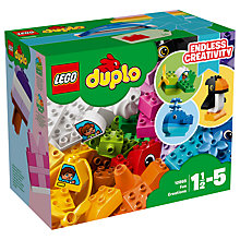 Buy LEGO DUPLO 10865 Fun Creations Online at johnlewis.com
