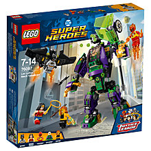 Buy LEGO DC Super Heroes 76097 Lex Luthor Mech Takedown Online at johnlewis.com