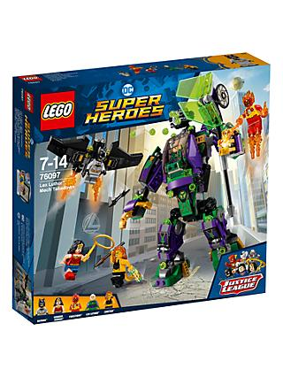 LEGO DC Super Heroes 76097 Lex Luthor Mech Takedown