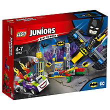 Buy LEGO Juniors 10753 Joker Batcave Attack Online at johnlewis.com