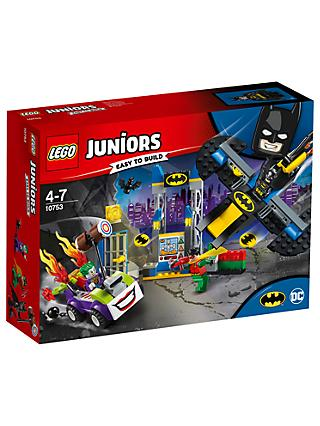 LEGO Juniors 10753 The Joker Batcave Attack Batman and Robin