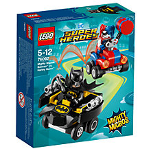 Buy LEGO DC Super Heroes 76092 Batman Vs Harley Quinn Online at johnlewis.com