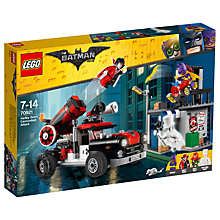 Buy LEGO The LEGO Batman Movie 70921 Harley Quinn Cannonball Attack Online at johnlewis.com